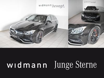 gebraucht Mercedes C63 AMG AMG S T Drivers P.*Burmester*Comand