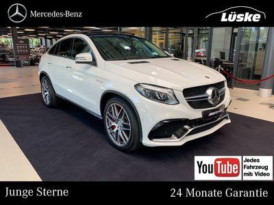 gebraucht Mercedes GLE63 AMG AMG S 4M Coupé Pano Assistenz Sitzklima AMG Sport