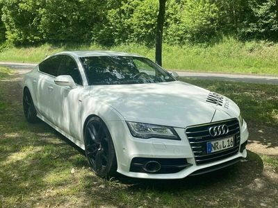 gebraucht Audi RS6 A7 3.0tfsi 5 sitzer S-line Luft Hud Voll weiß 21 Zoll