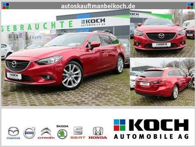 gebraucht Mazda 6 2.2 CD DPF SKYACTIV-D 150 Sports-Line (Navi)