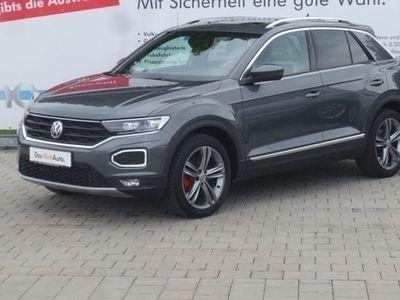 "gebraucht VW T-Roc Sport 2.0 TSI DSG 4 Motion Leder Panodach 18"" LED Navi"