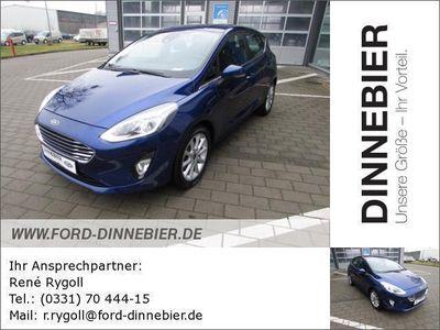 gebraucht Ford Fiesta Titanium Gebrauchtwagen, bei Autohaus Dinnebier GmbH