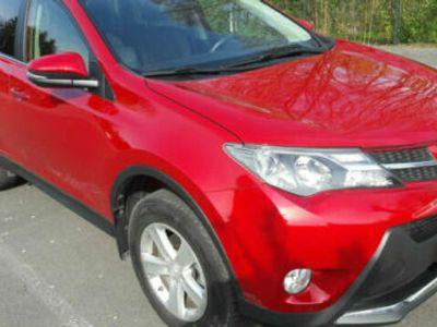 used Toyota RAV4 2.0 4x4 Executive Rubinrot Metallik