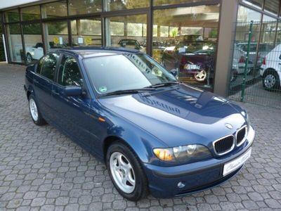 gebraucht BMW 316 i E46 *nur 119 TKM*2.Hand*HU 6/2021*mit Fehlern*