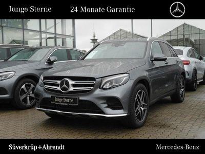 gebraucht Mercedes GLC300 4M AMG Line Sportabgas Distronic Navi