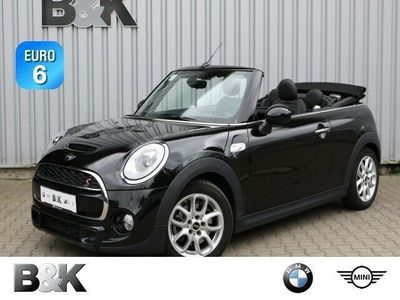 used Mini Cooper SD Cabriolet Bluetooth LED Vollleder Klima