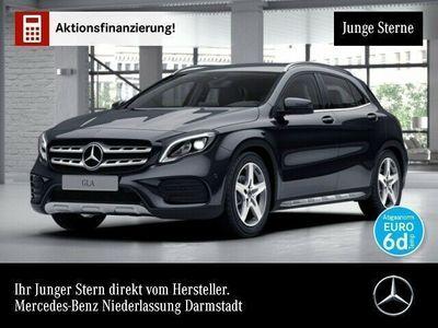 gebraucht Mercedes GLA220 4M AMG LED Navi Laderaump PTS 7G-DCT Sitzh