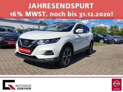 gebraucht Nissan Qashqai N-Way 1.7 dCi EU6d-T Pano-Navi-Winterpkt.