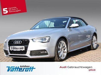 gebraucht Audi A5 Cabriolet 2.0 TDI DPF Leder/Navi/Xenon/B+O