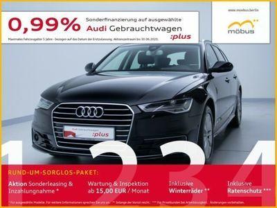 gebraucht Audi A6 Avant 2.0 TDI S-TRO*HUD*LEDER*AHK*MATRIX*SHZ