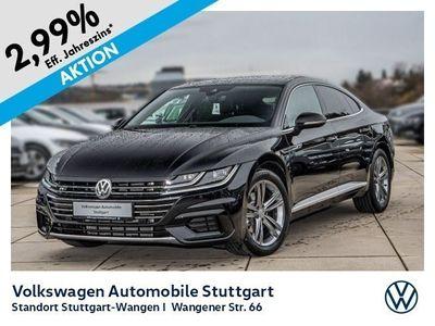 gebraucht VW Arteon R-Line 2.0 TDI DSG Navi LED ACC P-Dach