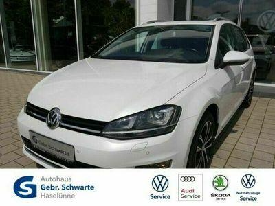 gebraucht VW Golf VII Variant 1.6 TDI Allstar PANO+XENON+NAVI