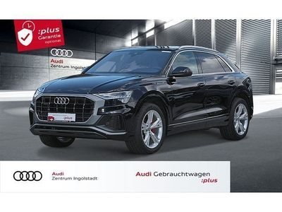 gebraucht Audi Q8 50 TDI qu 3x S line HD-MATRIX PANO ACC B&O