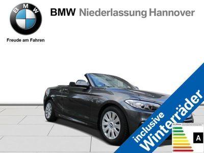 gebraucht BMW 218 d Cabrio M-Sportpaket Verkehrsschilderassis.