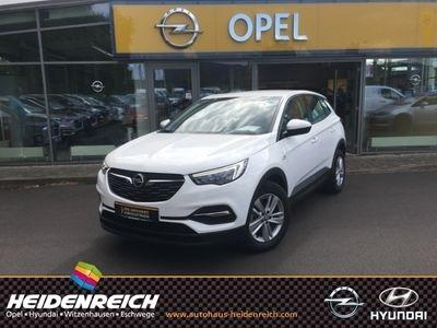 gebraucht Opel Grandland X Edition 1.2 Turbo Navi Fernlichtass. LED-hinten LED-Tagfahrlicht Multif.Lenkrad