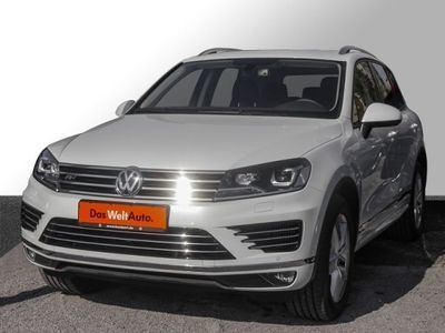 gebraucht VW Touareg 3.0 TDI V6 R-Line Leder AHK Luft (Navi)