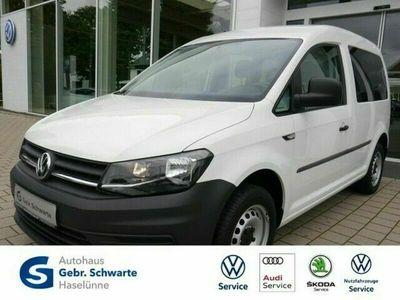 gebraucht VW Caddy Kombi 2.0 TDI AHK+FLÜGELTÜREN+KLIMA