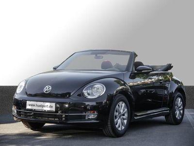 gebraucht VW Beetle Cabrio 1.2 Design GRA PDC Alu (Einparkhilfe)