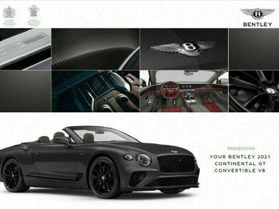 gebraucht Bentley Continental NewGTC V8 CARBON INNEN U. AUßEN