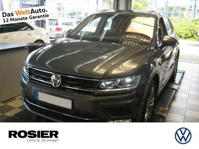 gebraucht VW Tiguan Highline 2.0 TSI 4Motion AHK ACC LED Pano