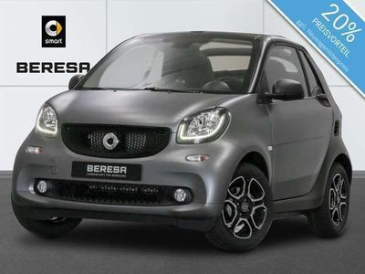 gebraucht Smart ForTwo Cabrio 52kW twinamic passion cool&audio