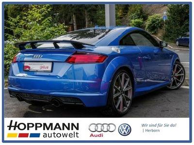 gebraucht Audi TT Coupé nza 2.0 TFSI S line B+O optikpaket schwarz