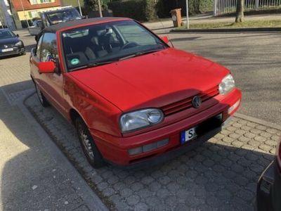 gebraucht VW Golf Cabriolet 1,8 *
