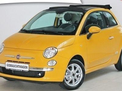 gebraucht Fiat 500C 1.2 8V Lounge Klimaautomatik 8fach bereift