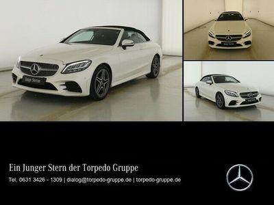 gebraucht Mercedes C200 CABRIO AMG AIRSCARF+LED+AHK+KAMERA+KEYLESS