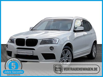 gebraucht BMW X3 xDrive 20dA M-Sportpaket KAMERA XENON NAVI