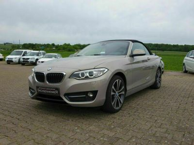 gebraucht BMW 228 i Aut. | Sport Line | Navi Prof. | PDC | H&K