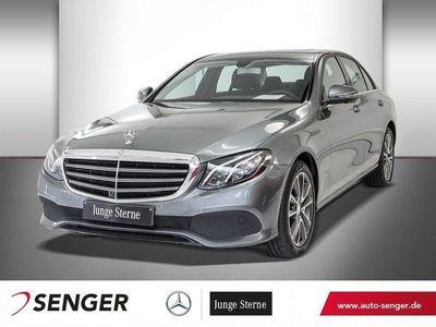 gebraucht Mercedes E350 d+AIRMATIC+NAVI+SHD+360°KAMERA+SHZ+LED+PDC