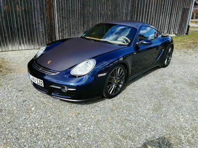 gebraucht Porsche Cayman S Tiptronic Motor neu Stahlbuchsen
