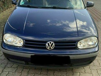 gebraucht VW Golf IV - 1.4 - 75PS Blau *EDITION*8 fac...
