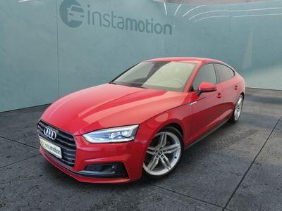 gebraucht Audi A5 Sportback A5 S-LINE+ExP 40 TFSI 190PS ACC.LED.NA