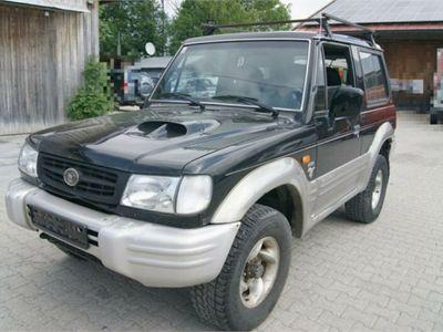 gebraucht Hyundai Galloper 2,5 Diesel 4X4 KLIMA 8xbe.LKW Zulassung