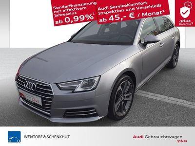 gebraucht Audi A4 Avant Design 2.0 TDI Navi virtual cockpit DAB plus Winterräder