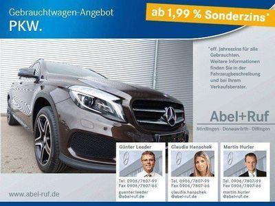gebraucht Mercedes GLA200 d-Navi-Rückfahrkamera-Night Paket-AMG