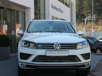 gebraucht VW Touareg V6 TDI 4Motion R-Line, Pano, Navi, Leder