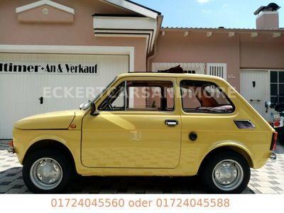 """gebraucht Fiat 126 Der"""" Schönste"""" mit Falldach restauriert"""