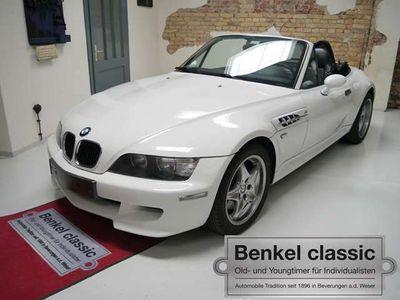 gebraucht BMW Z3 M Roadster S54 weiss/schwarz ClassicData2+ selten!