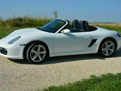 gebraucht Porsche Boxster S carraraweiß Leder Cocoa Navi SHZ Xenon als Cabrio/Roadster in Parsberg