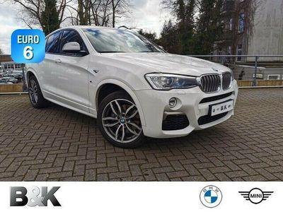 gebraucht BMW X4 M40i Sportpaket Navi Xenon Klima PDC