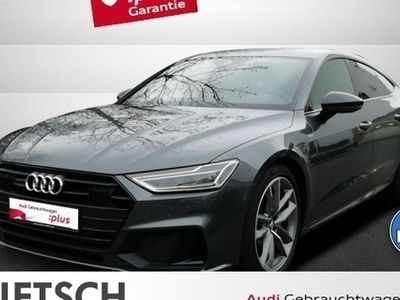 gebraucht Audi A7 Sportback 50 TDI quattro -LED AHK Navi VC DAB