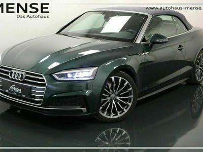 gebraucht Audi A5 Cabriolet 2.0 TDI Design S line Navi LED Alcantara