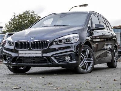 gebraucht BMW 220 Gran Tourer Sport Line Aut. Panorama 17''LM