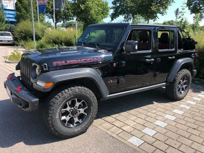 gebraucht Jeep Wrangler Unlimited Rubicon 2.2 CRDi Automatik