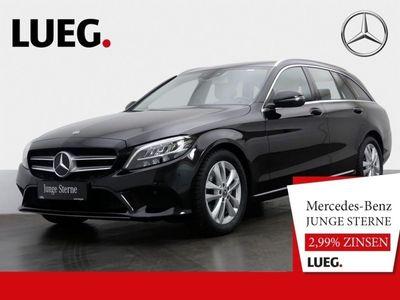 gebraucht Mercedes C200 T Avantgarde+Spur-P.+LED+Kamera+Navi+PDC