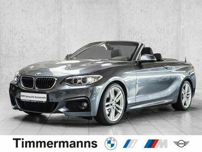 gebraucht BMW 220 i Cabrio M Sport Aut. Navi Xenon Klimaaut.