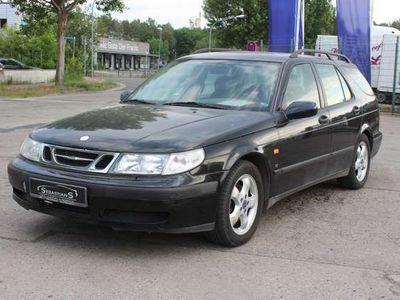 gebraucht Saab 9-5 Kombi 2.0t SE Alu AHK Klimaauto. Leder Tüv